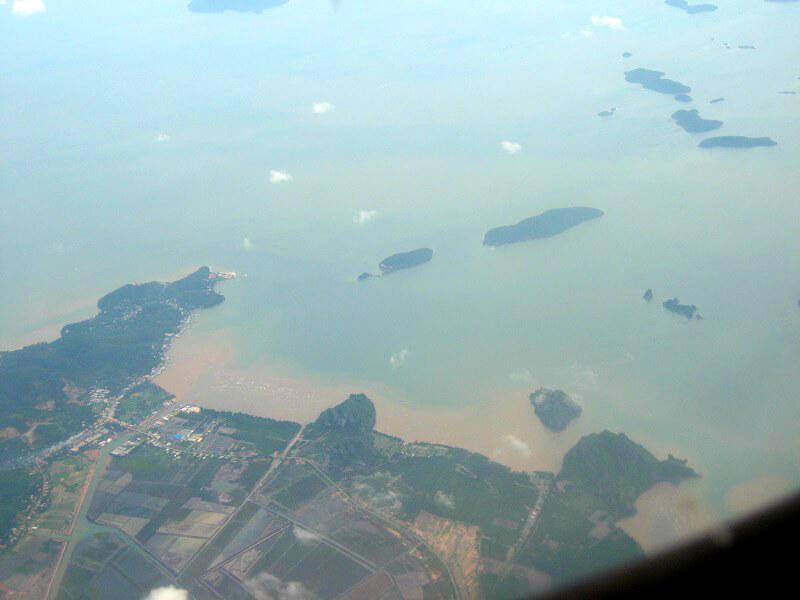 Backpacken Vietnam luchtfoto Phu Quoc