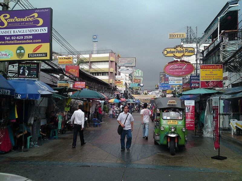 Bangkok reistips backpacken Koa San road