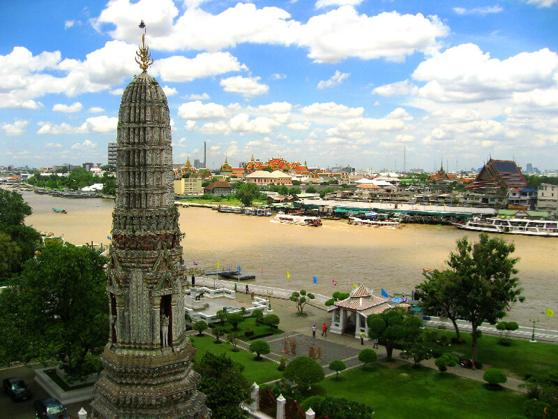 Bangkok reistips backpacken Wat Arun