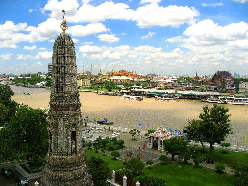 Bangkok reistips backpacken Wat Arun