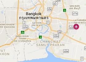 Bangkok vliegveld Suvarnabhumi