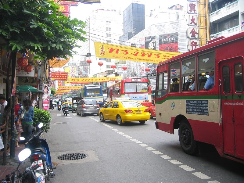 Budget voor Thailand bus