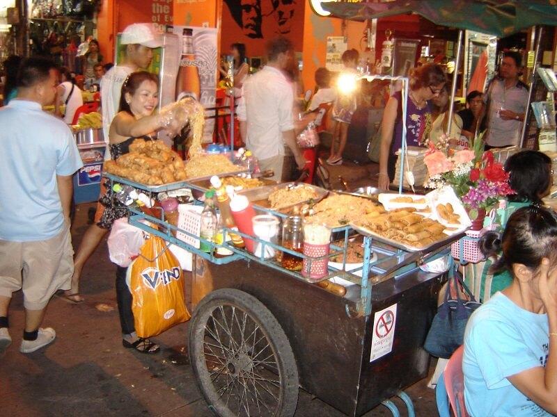 Budget voor Thailand lokaal eten