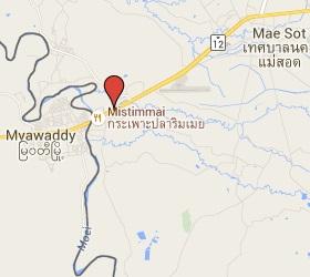 Grensovergang Mae Sot - Myawaddy