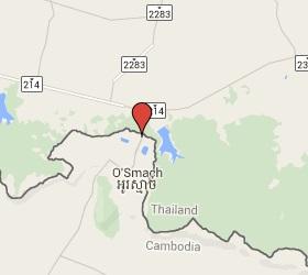 Grensovergang O Smach - Chong Chom