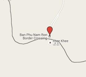 Grensovergang Phunaron - Htee Kee