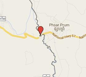 Grensovergang Psar Pruhm - Ban Pakard