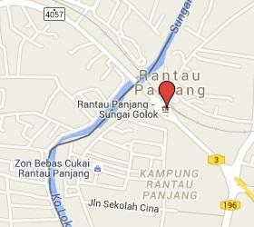 Grensovergang Sungai - Rantau Panjang