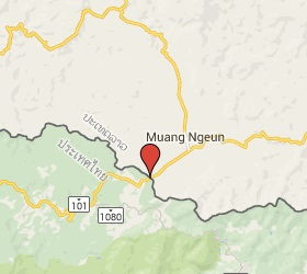 Grensovergang Huai Kon - Muang Ngeun