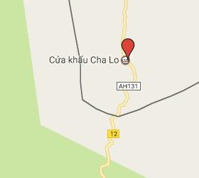Grensovergang Na Phao - Cha Lo Laos - Vietnam