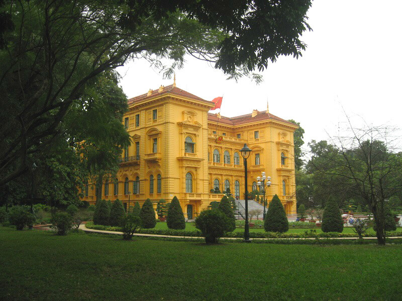Presidentieel paleis Hanoi