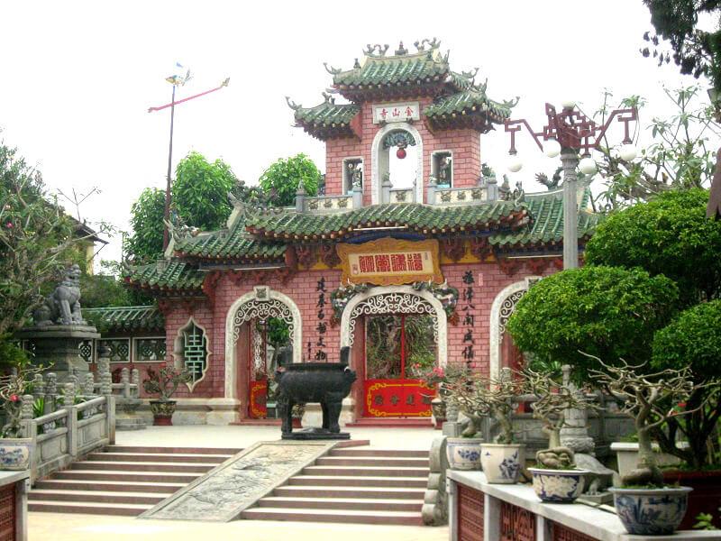 Ingang Chinese tempel
