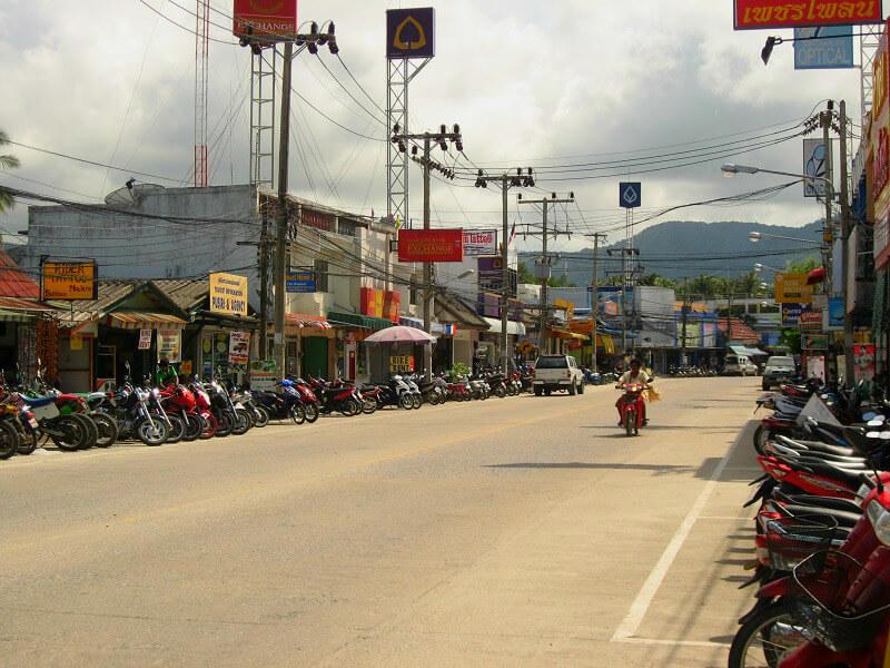 Koh Phangan reistips centrum