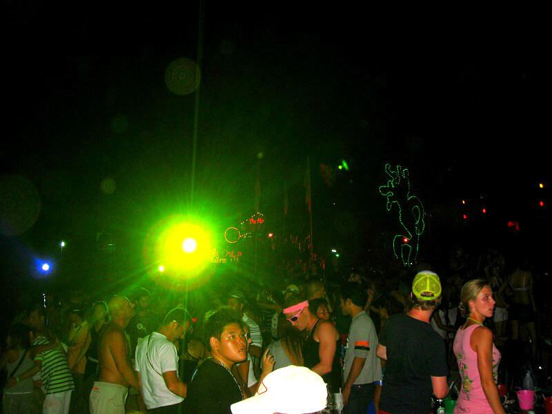 Koh Phangan reistips full moon party