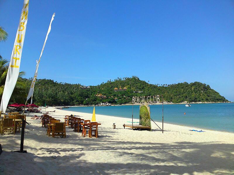 Koh Phangan reistips strandclub