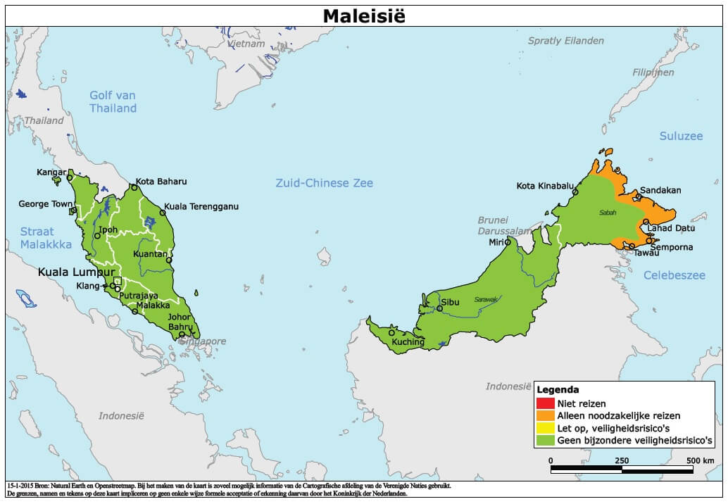 Gevaren in Maleisië