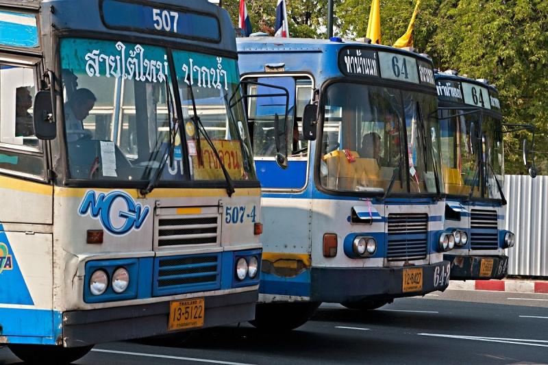Online bus ticket voor Thailand kopen