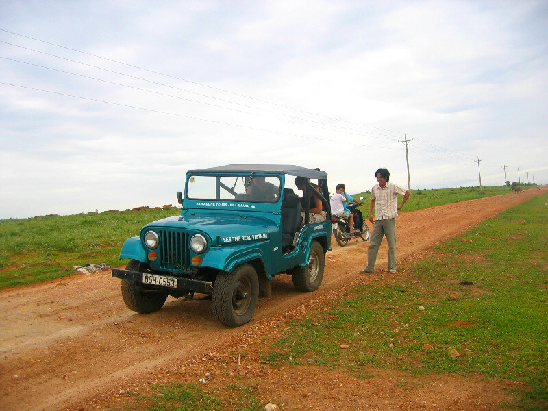 Reistips backpacken Mui Ne jeep huren