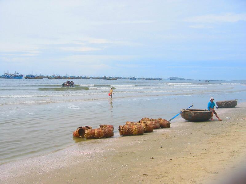 Reistips backpacken Mui Ne vissers