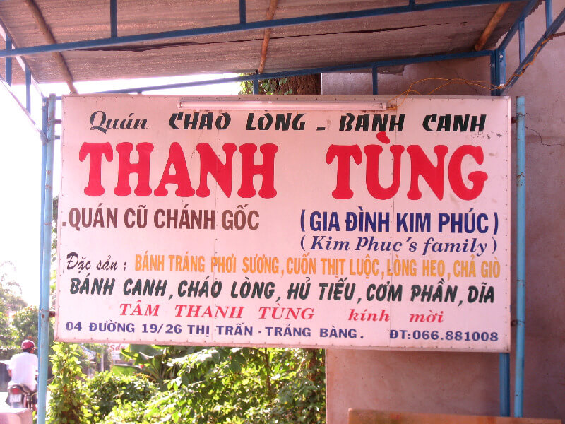 Reistips backpacken Tay Ninh huis van Kim Phuc
