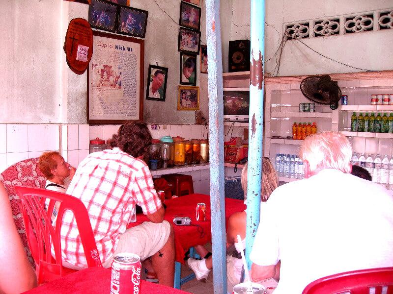 Reistips backpacken Tay Ninh huis van Kim Phuc video kijken