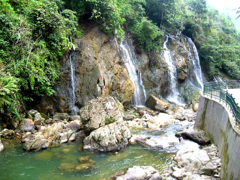 Watervallen Sapa