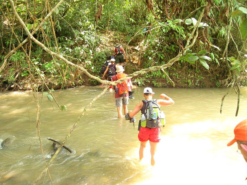 Trekking in Muang Sing
