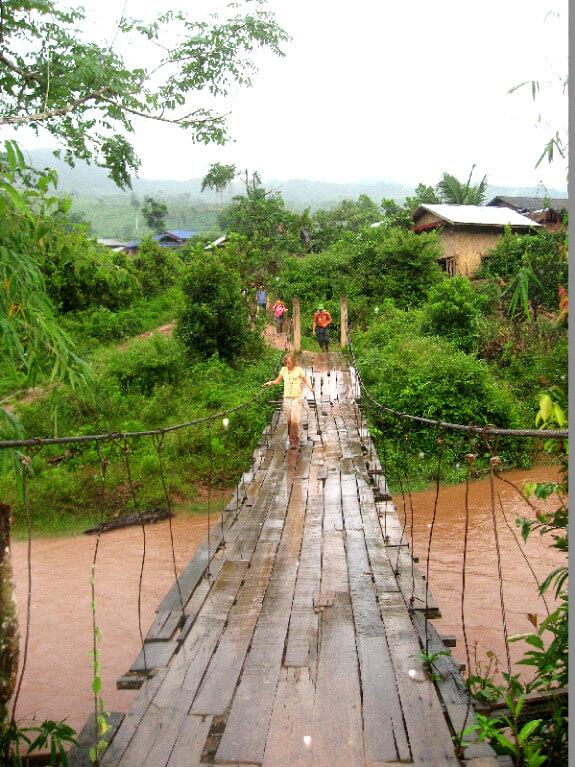 Luang Namtha trekking brug