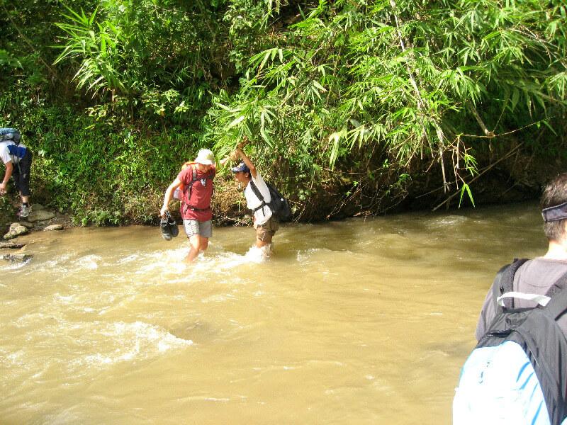 Luang Namtha trekking door rivier