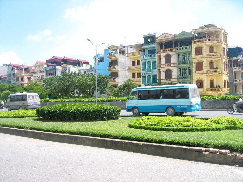 Bus in Vietnam