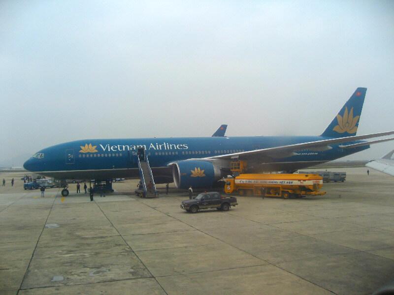 Vliegtuig Vietnam Airlines