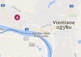 Vientiane vliegveld Wattay