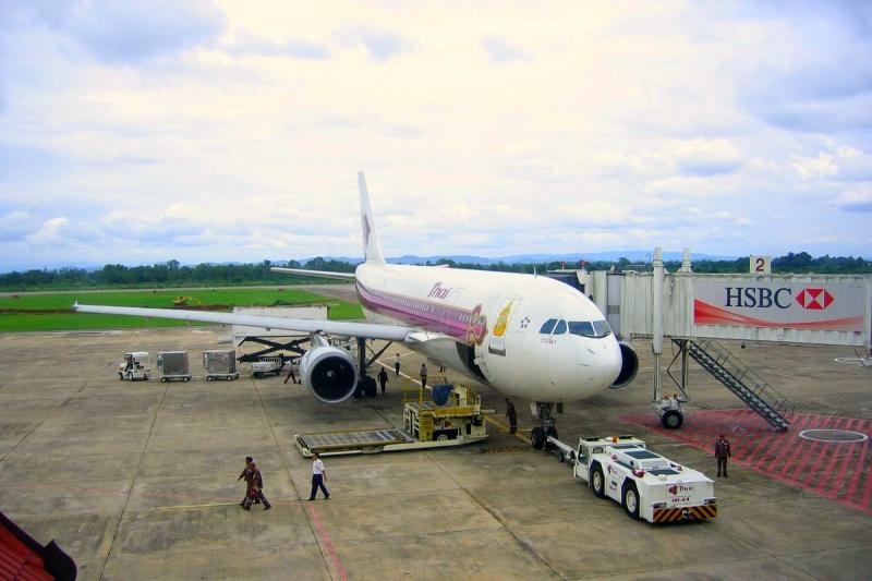Vliegvelden in Thailand