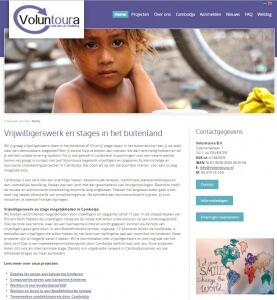 Vrijwilligerswerk Cambodja Voluntoura
