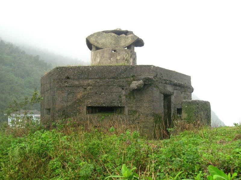 Backpacken Danang bunker op Hai Van pass