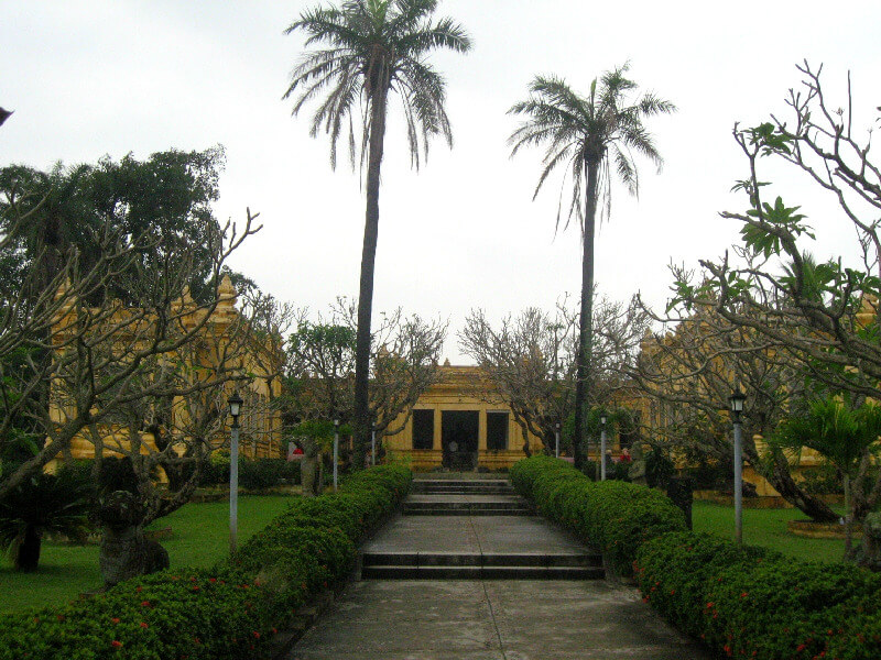 Backpacken Danang Champa museum