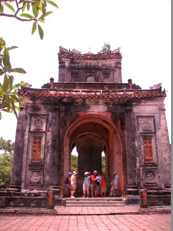 Backpacken Danang Chinese tempel