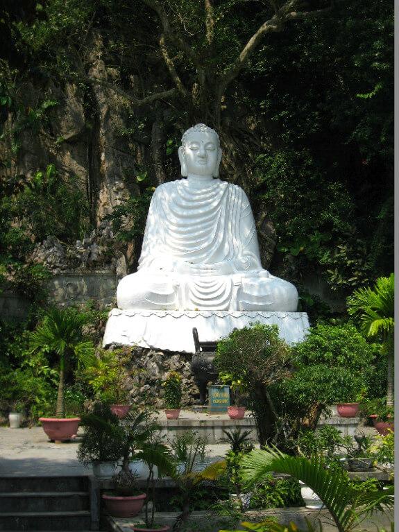 Backpacken Danang marmeren boeddha