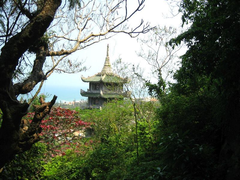 Backpacken Danang pagoda