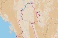 Beste reisroutes door Myanmar
