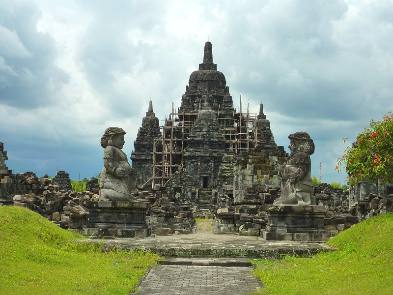 Backpacken Indonesië Borobudur