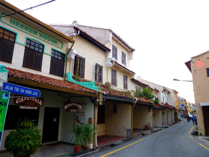 Malakka backpacken centrum stad