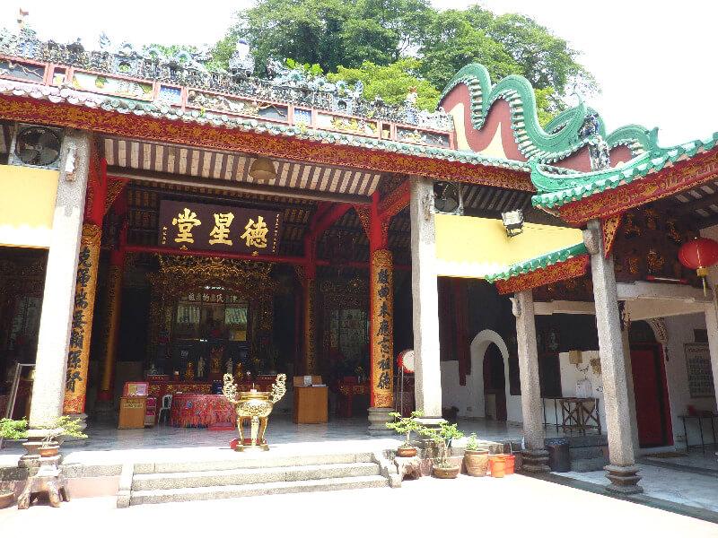 Malakka backpacken Cheng Hoon Teng tempel