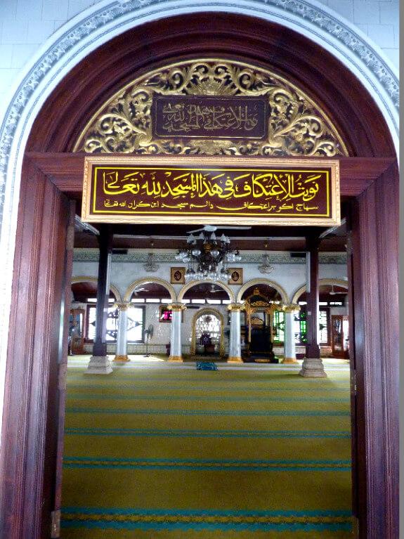 Malakka backpacken moskee