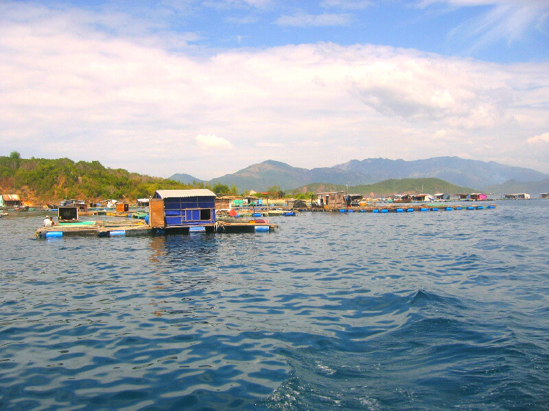 Backpacken in Nha Trang viskwekerijen