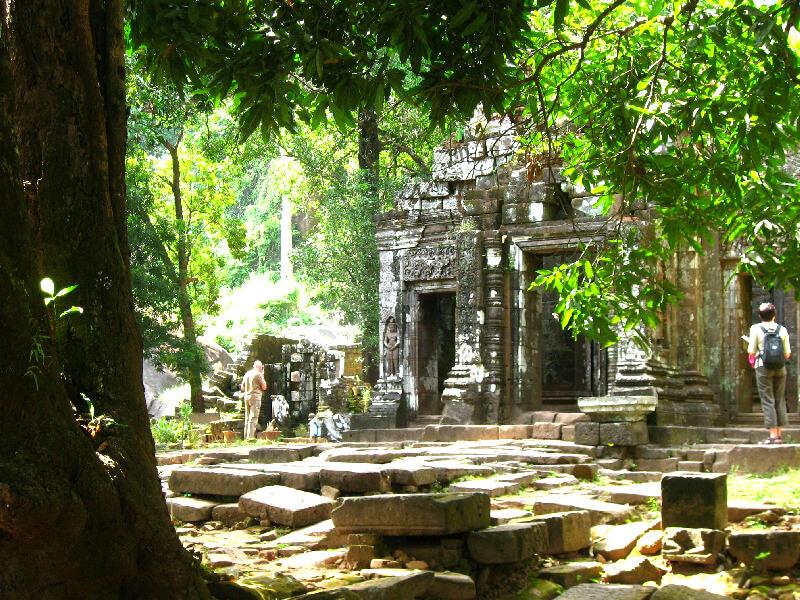 Reistips backpacken Wat Phu Champasak heilige tempel