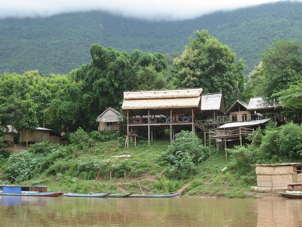 Nam Ou rivier Nong Khiaw