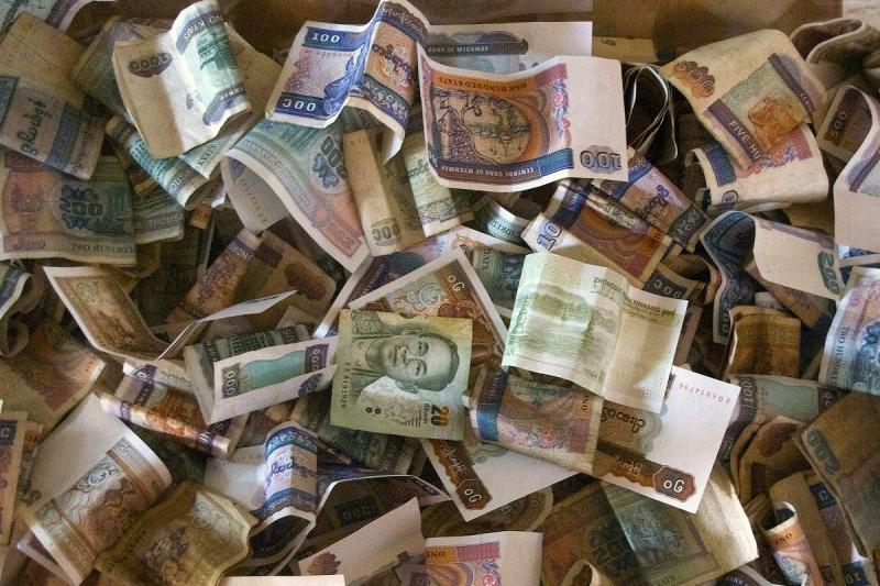 Geld in Myanmar