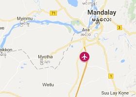 Mandalay vliegveld