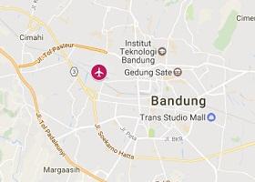Bandung vliegveld Husein Sastranegara